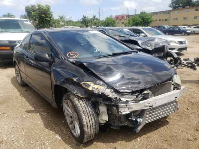 Salvage cars for sale from Copart Opa Locka, FL: 2007 Honda Civic SI
