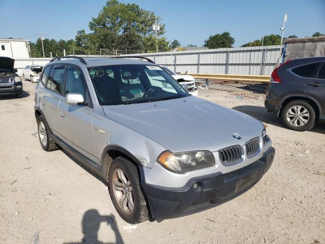 Salvage cars for sale at Florence, MS auction: 2005 BMW X3 3.0I