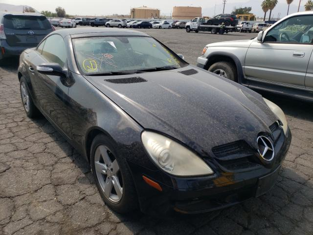Salvage cars for sale from Copart Colton, CA: 2008 Mercedes-Benz SLK 280