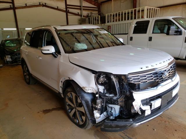 KIA salvage cars for sale: 2021 KIA Telluride