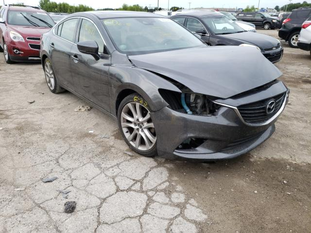 Salvage cars for sale at Indianapolis, IN auction: 2017 Mazda 6 Touring
