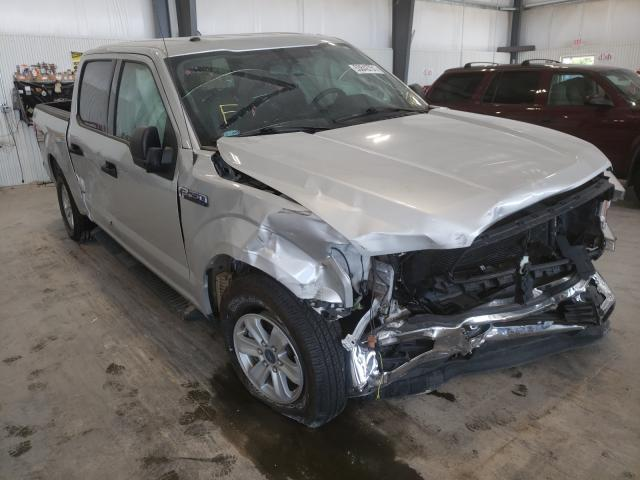 Salvage cars for sale at Greenwood, NE auction: 2018 Ford F150 Super