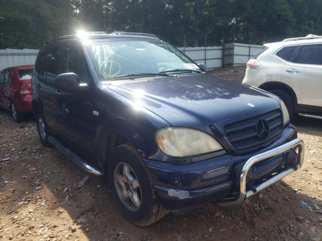 Salvage cars for sale from Copart Austell, GA: 2000 Mercedes-Benz ML 320