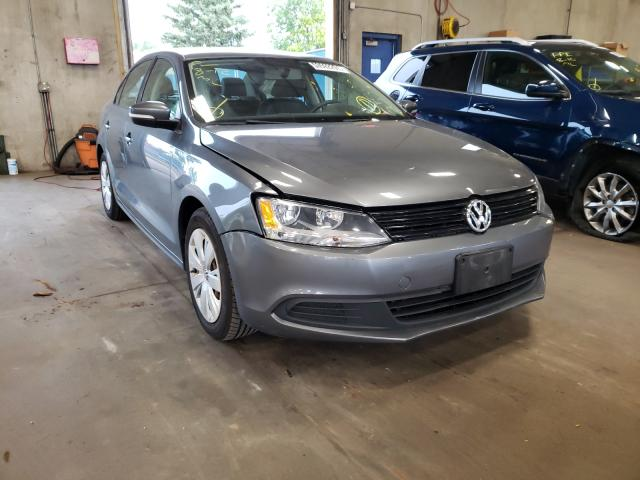 Salvage cars for sale from Copart Blaine, MN: 2012 Volkswagen Jetta SE