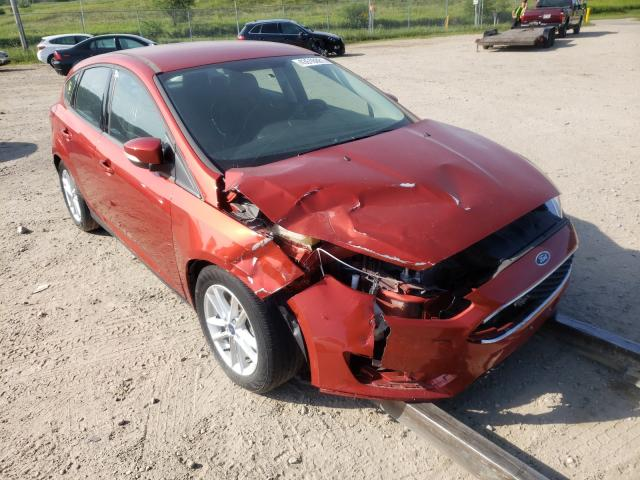 Salvage 2018 FORD FOCUS - Small image. Lot 43516881