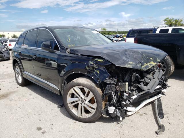 Salvage cars for sale from Copart Orlando, FL: 2021 Audi Q7 Premium