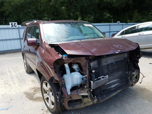 Salvage cars for sale from Copart Glassboro, NJ: 2014 Honda Pilot EXL