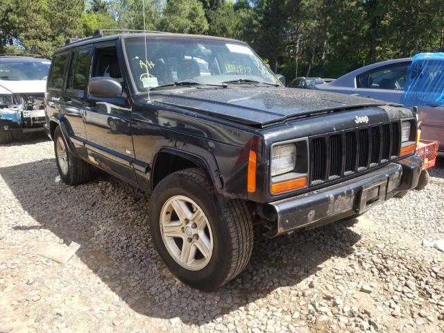 Salvage cars for sale from Copart Ham Lake, MN: 2001 Jeep Cherokee C