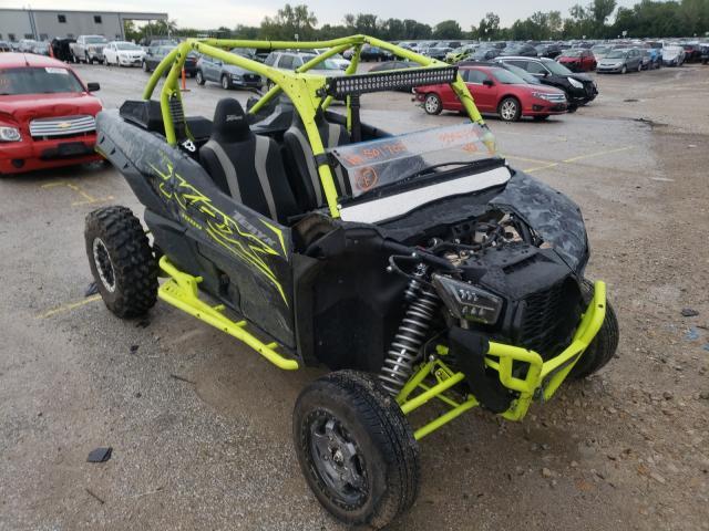 Salvage cars for sale from Copart Kansas City, KS: 2021 Kawasaki KRF 1000 B
