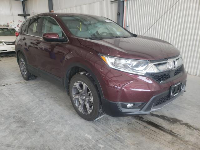 Salvage cars for sale from Copart Greenwood, NE: 2019 Honda CR-V EXL