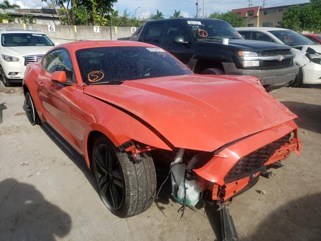 Salvage cars for sale from Copart Opa Locka, FL: 2015 Ford Mustang