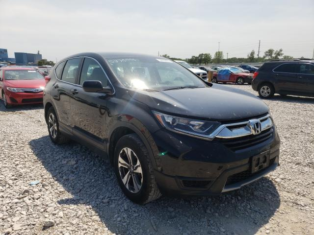 Salvage cars for sale from Copart Des Moines, IA: 2017 Honda CR-V LX