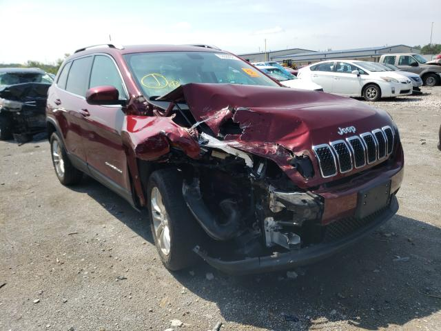 Salvage cars for sale from Copart Alorton, IL: 2019 Jeep Cherokee L