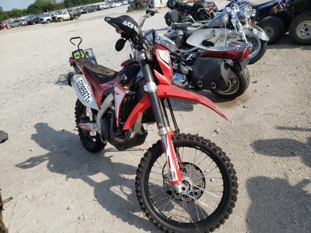 Salvage cars for sale from Copart Wichita, KS: 2019 Honda CRF450 L