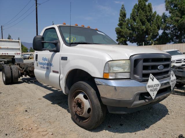 Vehiculos salvage en venta de Copart Rancho Cucamonga, CA: 2003 Ford F550 Super