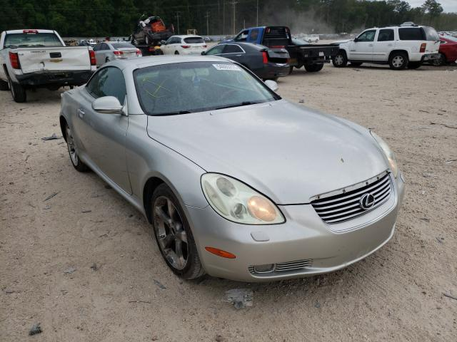 Salvage cars for sale at Greenwell Springs, LA auction: 2002 Lexus SC 430