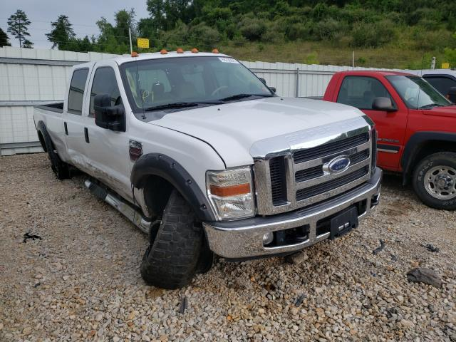 Salvage cars for sale from Copart Hurricane, WV: 2008 Ford F350 SRW S