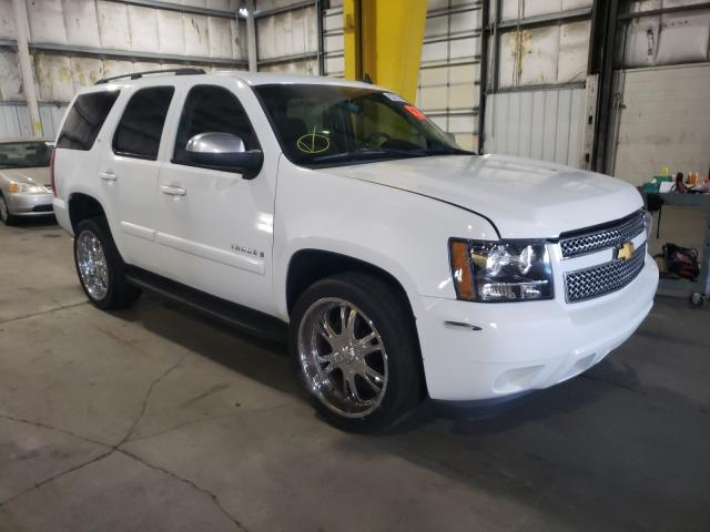 Salvage cars for sale at Woodburn, OR auction: 2007 Chevrolet Tahoe K150