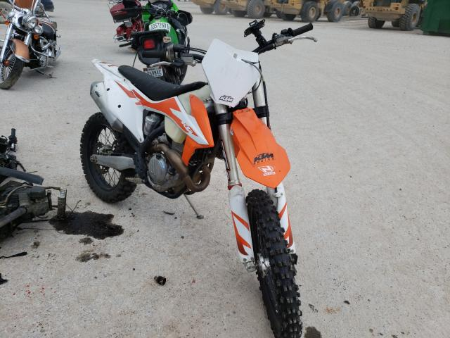 Salvage cars for sale from Copart Houston, TX: 2020 KTM 350 XC-F