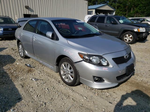 Salvage cars for sale from Copart Seaford, DE: 2009 Toyota Corolla BA