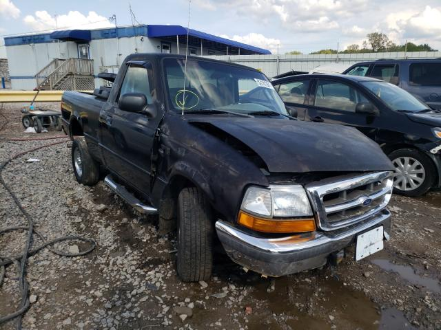 Salvage trucks for sale at Hueytown, AL auction: 1998 Ford Ranger