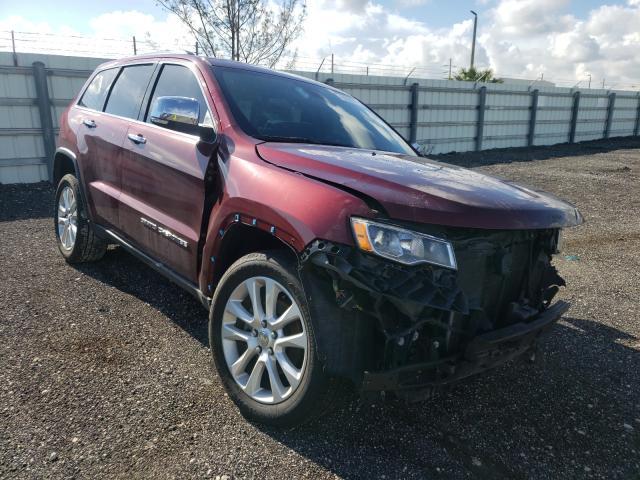 Vehiculos salvage en venta de Copart Miami, FL: 2017 Jeep Grand Cherokee