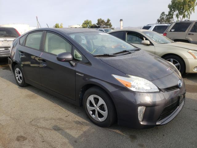 Vehiculos salvage en venta de Copart Martinez, CA: 2012 Toyota Prius