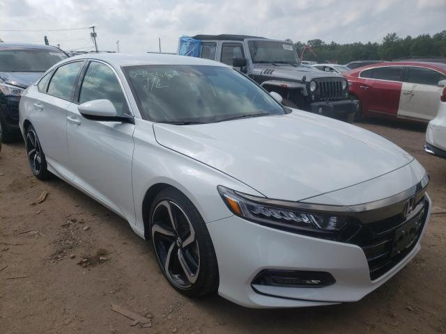 Salvage cars for sale from Copart Grantville, PA: 2020 Honda Accord Sport
