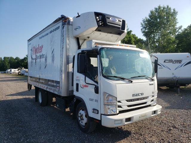 Salvage cars for sale from Copart Central Square, NY: 2018 Isuzu NPR XD