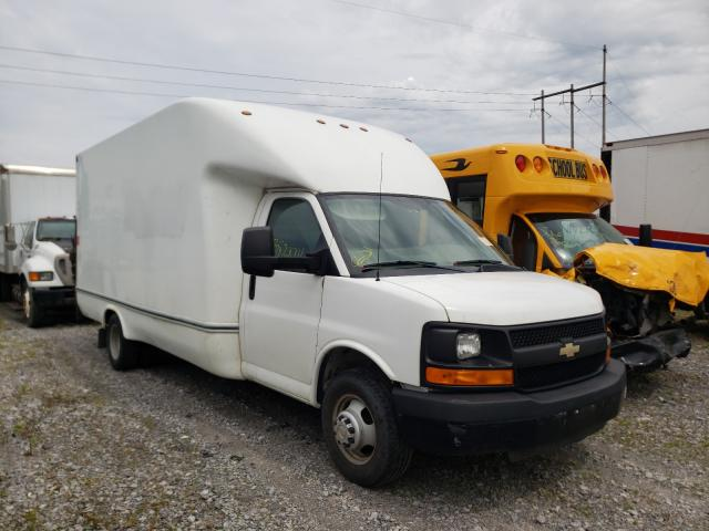 Salvage cars for sale from Copart Leroy, NY: 2014 Chevrolet Express G3