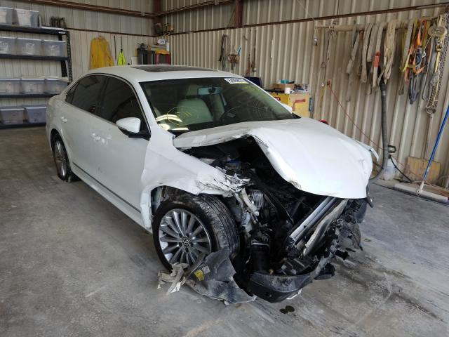 Salvage cars for sale from Copart Abilene, TX: 2017 Volkswagen Passat SE