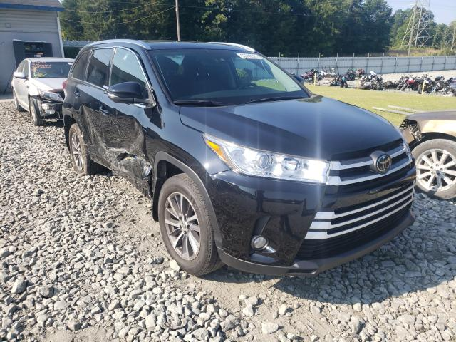 Salvage cars for sale from Copart Mebane, NC: 2018 Toyota Highlander