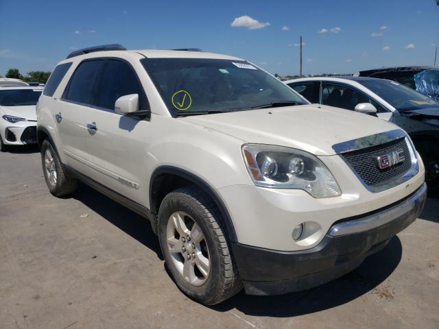 Vehiculos salvage en venta de Copart Grand Prairie, TX: 2008 GMC Acadia SLT