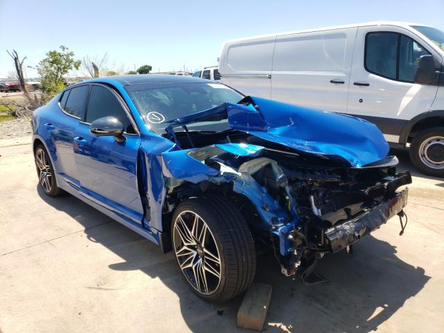 2022 KIA Stinger GT en venta en Grand Prairie, TX