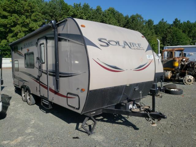 Fost Travel Trailer salvage cars for sale: 2013 Fost Travel Trailer