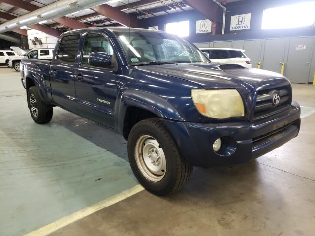 Salvage trucks for sale at East Granby, CT auction: 2006 Toyota Tacoma DOU