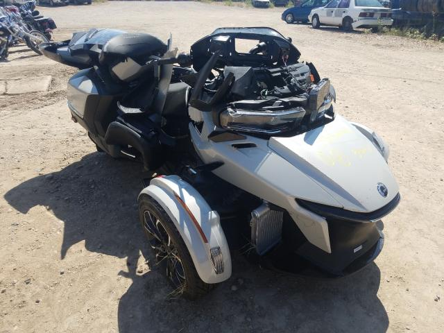 Salvage cars for sale from Copart Billings, MT: 2021 Can-Am Spyder ROA