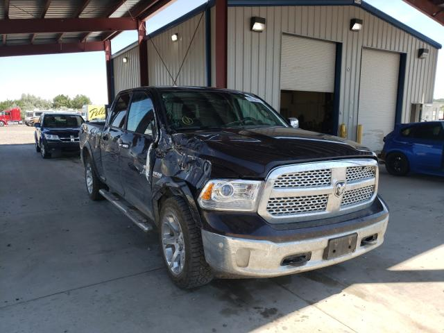 Salvage cars for sale from Copart Billings, MT: 2017 Dodge 1500 Laram