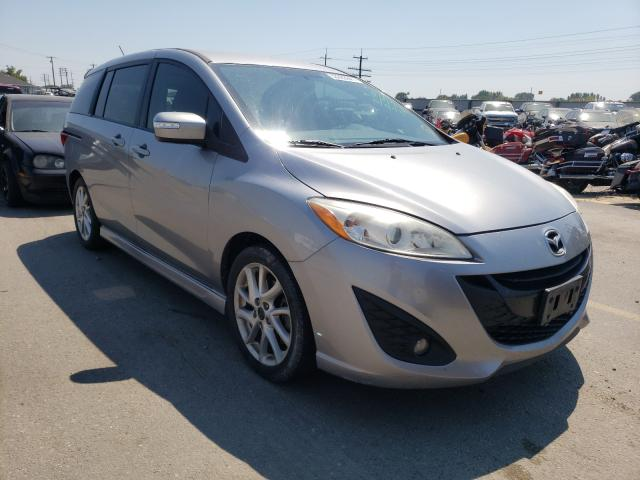 Mazda salvage cars for sale: 2014 Mazda 5 Touring