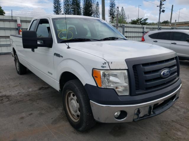 Vehiculos salvage en venta de Copart Miami, FL: 2011 Ford F150 Super