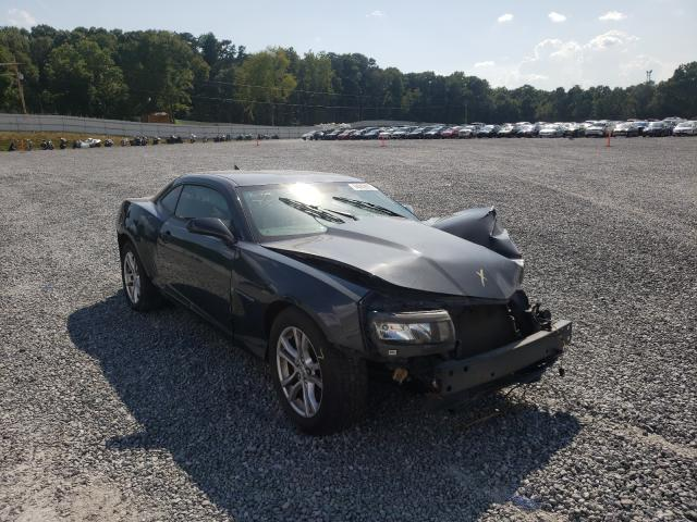 Salvage cars for sale from Copart Gastonia, NC: 2015 Chevrolet Camaro LS