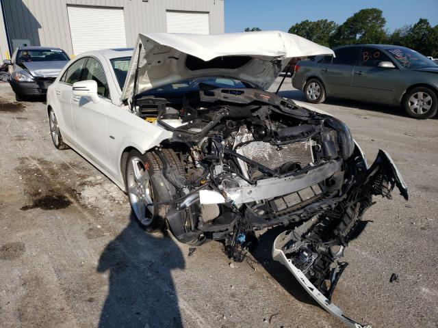 Salvage cars for sale from Copart Rogersville, MO: 2012 Mercedes-Benz CLS 550 4M