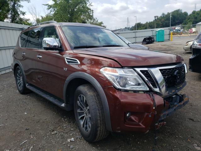 Vehiculos salvage en venta de Copart West Mifflin, PA: 2019 Nissan Armada SV