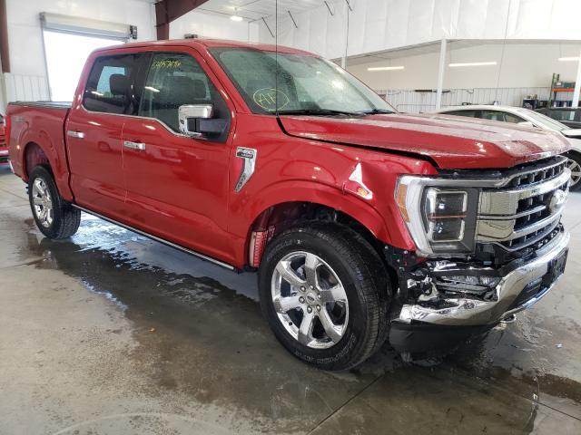 Vehiculos salvage en venta de Copart Avon, MN: 2021 Ford F150 Super