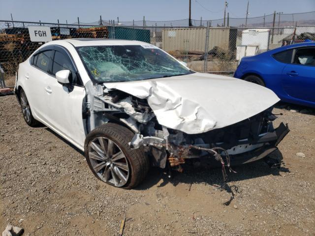 Salvage cars for sale from Copart San Martin, CA: 2018 Mazda 6 Signatur