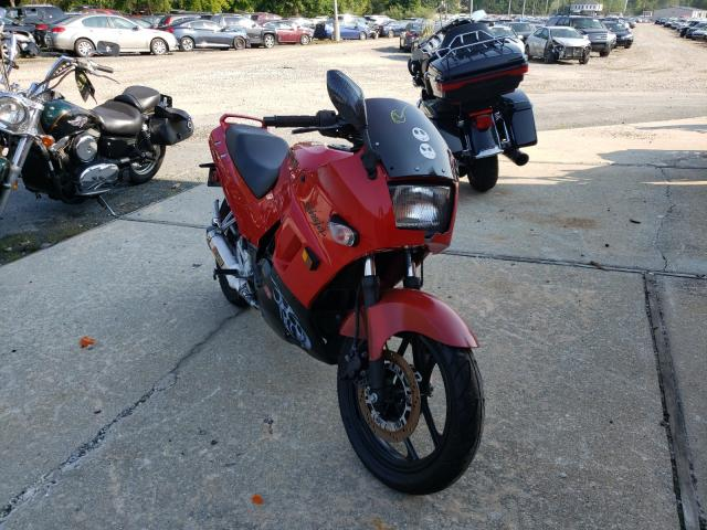 Salvage motorcycles for sale at Billerica, MA auction: 1997 Kawasaki EX250 F
