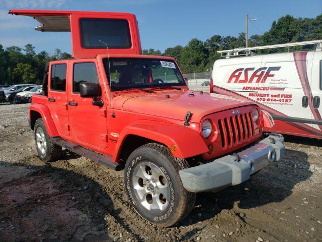 Salvage cars for sale at Ellenwood, GA auction: 2013 Jeep Wrangler U