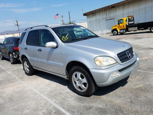 Salvage cars for sale from Copart Sun Valley, CA: 2004 Mercedes-Benz M-Class