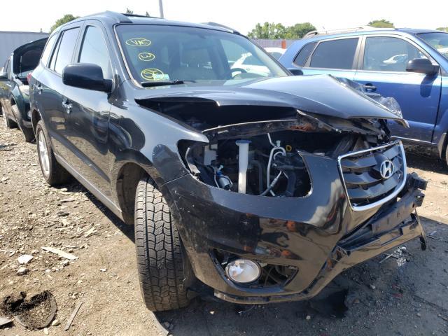 Salvage cars for sale at Cudahy, WI auction: 2011 Hyundai Santa FE L