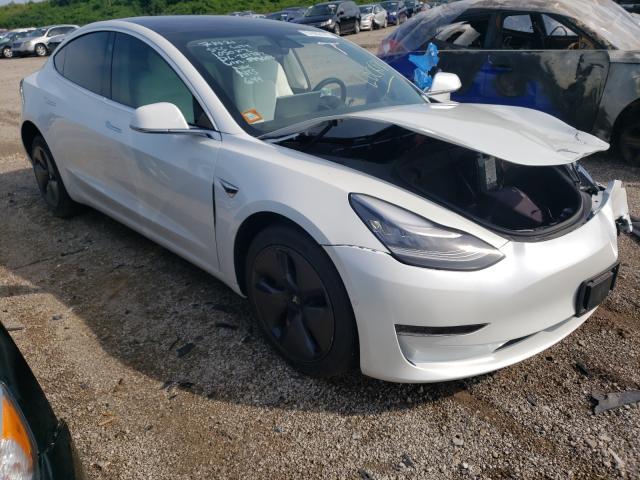 Tesla salvage cars for sale: 2020 Tesla Model 3